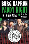Paddy Night Burg Kaprun 2016