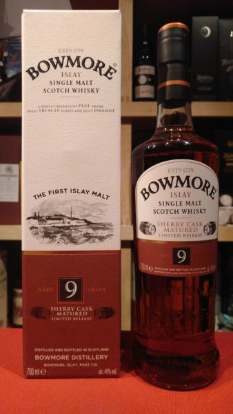 Bowmore 9yo Sherry Cask matured