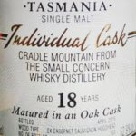 Tasmania Single Malt Cradle Mountain 18yo
