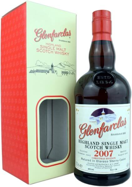 Glenfarclas 2007 Christmas Edition