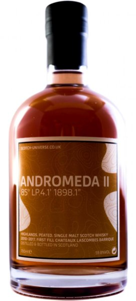 Scotch Universe Andromeda II - 85° LP.4.1' 1898.1""