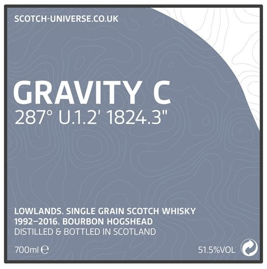 Scotch Universe Gravity C - 287° U.1.2' 1824.3