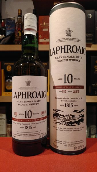 Laphroaig Cask Strength Batch 010