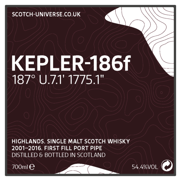 Scotch Universe Kepler-186F