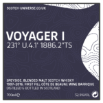 Scotch Universe Voyager I