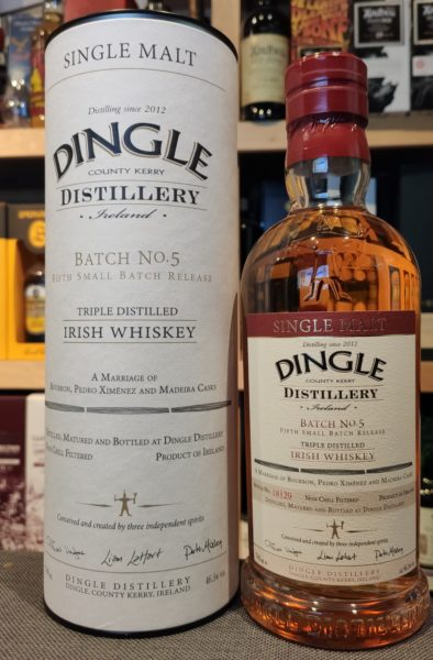 Dingle Single Malt Batch 5